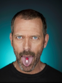 HOUSE:  Hugh Laurie as Dr. Gregory House in the sixth season of HOUSE  premiering with a two-hour event episode