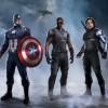 Captain America, le Faucon, le Soldat de l'Hiver
